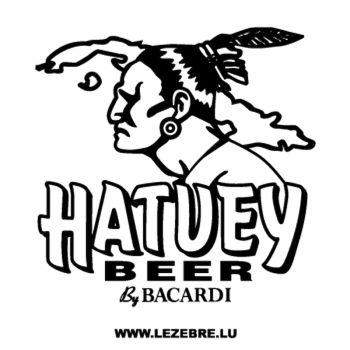 Sticker Hatuey Beer by Bacardi