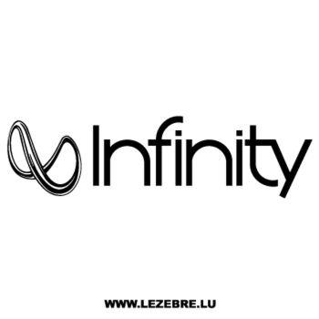 > Sticker Infinity Logo