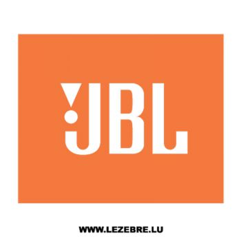 JBL Logo Decal 2