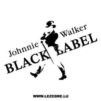 Johnnie Walker Decal