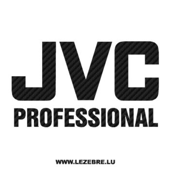 Sticker Carbone JVC Professional