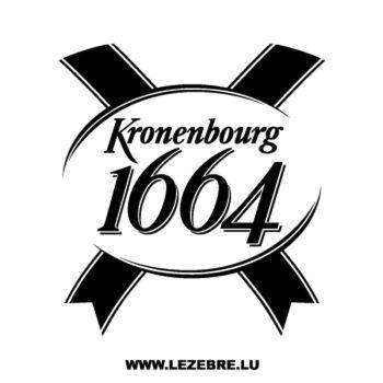 Sticker Kronenbourg