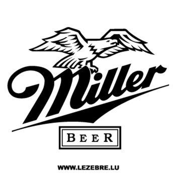 Sticker Miller Beer