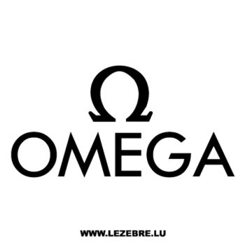 Omega Logo Decal