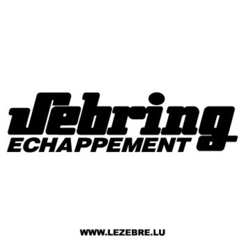 Sebring Echappement Decal