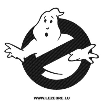 Ghostbusters Carbon Decal 2