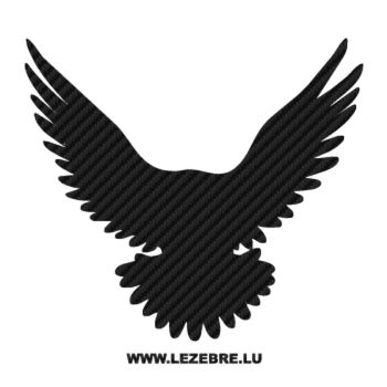 Eagle Carbon Decal