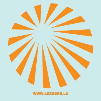> Sticker Deco Rayons Soleil
