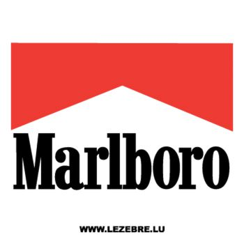 Marlboro Logo Decal