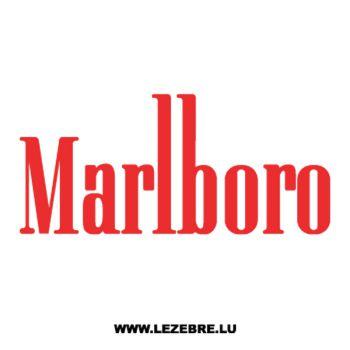 Sticker Marlboro Logo 3