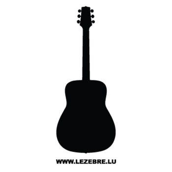 Sticker Deco Guitar