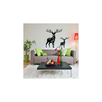 Deer decoration decal model