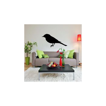 Bird decoration decal model 00