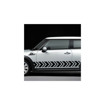 Arrow stripe decoration decal model