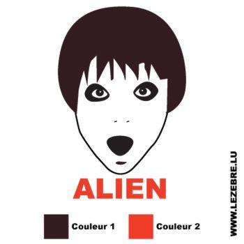 Sticker Alien
