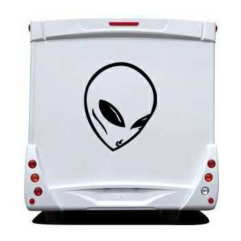 Sticker Camping Car Alien 2