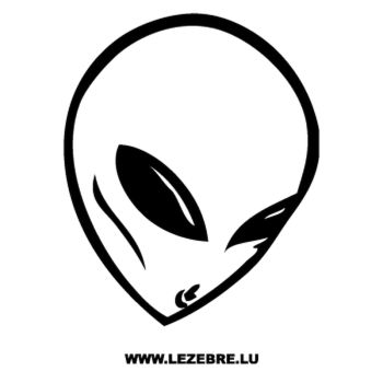 Sticker Alien 2