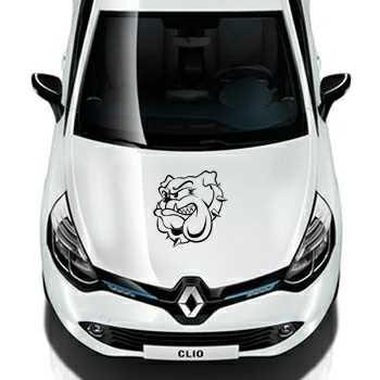 Bulldog Renault Decal