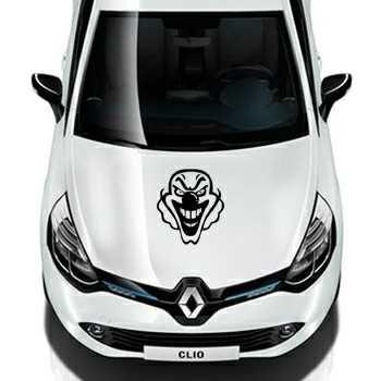 Clown Renault Decal
