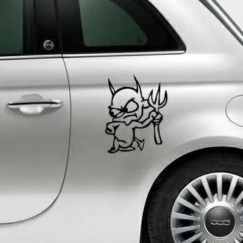 Devil Fiat 500 Decal