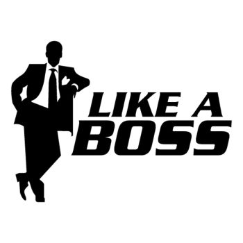 Like a Boss Decal