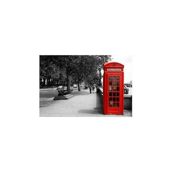Deco Stickers muraux Cabine Téléphone Londres