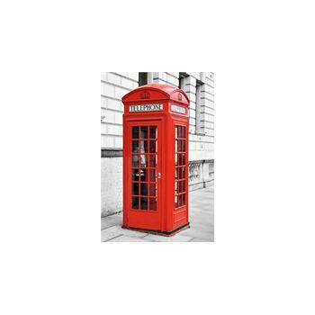 Stickers muraux Cabine Téléphonique Anglaise