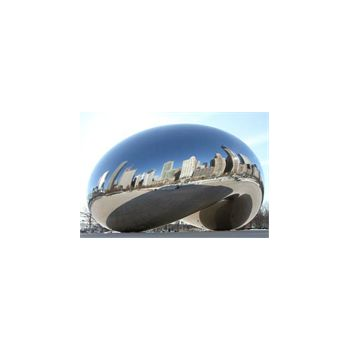 Sticker muraux geant Chicago Bean