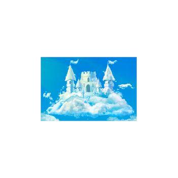 autocollant château de nuage