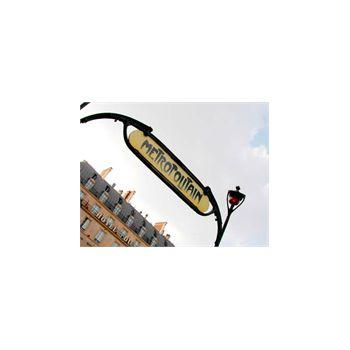 Sticker muraux geant Paris Metropolitan