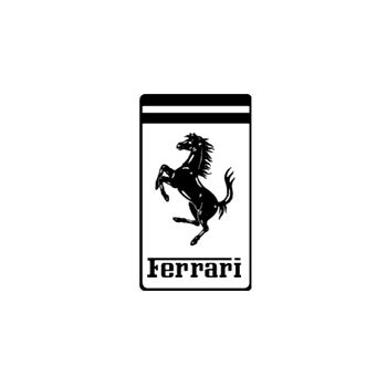 Ferrari Logo Decal