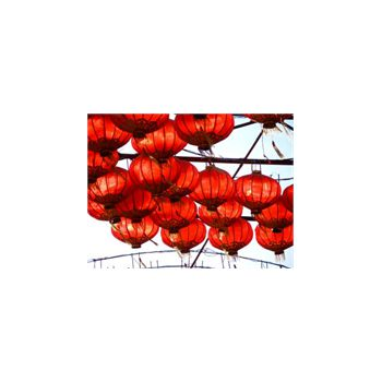 Deco Stickers muraux Lampes Chinoise