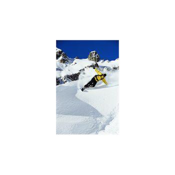 Sticker Déco Snowboarding