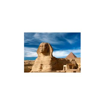 Stickers Wanddekoration Sphinx Pyramide