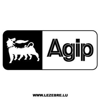 Autocollants Agip Logo 2