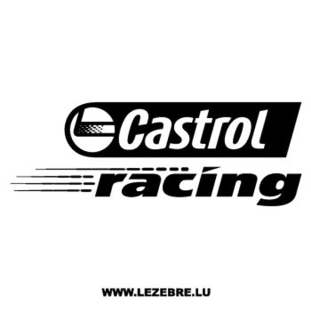 Castrol Racing Decal
