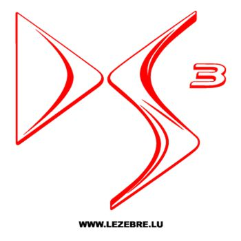 Sticker Citroën DS3 Logo