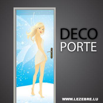 Fairy door decal