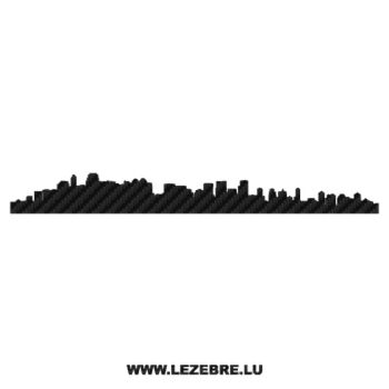 Silhouette Calgary Carbon Decal