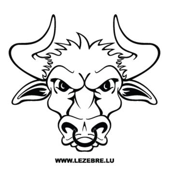 Head of Beef Decal