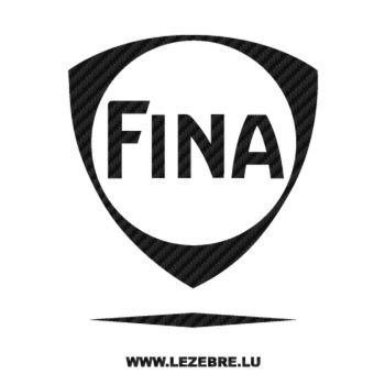 Fina Carbon Decal 2
