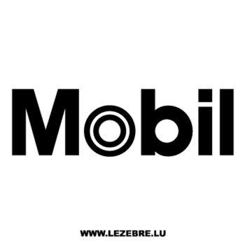 Mobil 1 Logo Decal