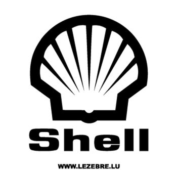 Shell Logo Decal 2