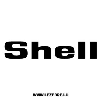 Shell Logo Decal 4