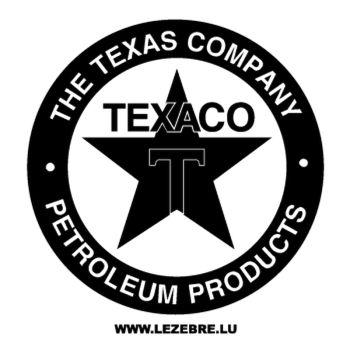 Sticker Texaco Company