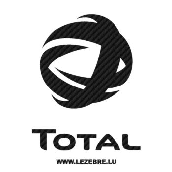 Total Logo Carbon Decal 3