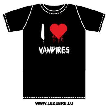 T-Shirt I Love Vampires