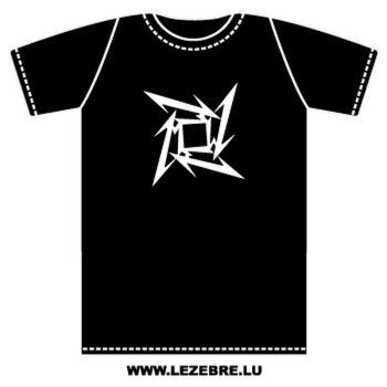 T-Shirt Metallica Ninja Star