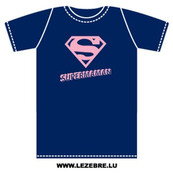 T-Shirt Supermaman parody Superman