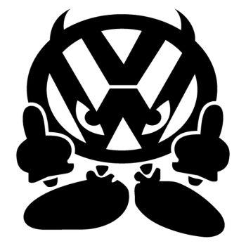 Sticker VW Démon